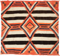 American Indian Art:Weavings, A NAVAJO FOURTH PHASE CHIEF'S BLANKET. c. 1910...
