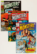 Silver Age (1956-1969):Horror, Where Monsters Dwell Group (Marvel, 1970-75) Condition: AverageVF.... (Total: 33 Comic Books)