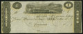 Obsoletes By State:Ohio, Cincinnati, OH- Unknown Issuer $1 Remainder Wolka 0653-01. ...