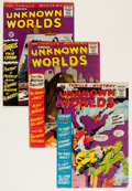 Silver Age (1956-1969):Horror, Unknown Worlds Group (ACG, 1961-67) Condition: Average VG/FN....(Total: 18 Comic Books)