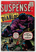 Silver Age (1956-1969):Horror, Tales of Suspense #9 (Marvel, 1960) Condition: FN....
