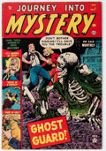 Golden Age (1938-1955):Horror, Journey Into Mystery #7 (Marvel, 1953) Condition: VG....