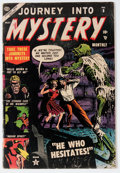 Golden Age (1938-1955):Horror, Journey Into Mystery #8 (Marvel, 1953) Condition: GD/VG....
