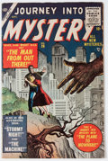 Golden Age (1938-1955):Science Fiction, Journey Into Mystery #26 (Marvel, 1955) Condition: VG/FN....