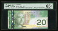 "Canadian Currency: , ""Radar"" Serial Number BC-64a $20 2005. ..."