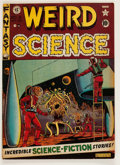 Golden Age (1938-1955):Science Fiction, Weird Science #8 (EC, 1951) Condition: VG+....