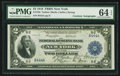 Large Size:Federal Reserve Bank Notes, Fr. 750 $2 1918 Federal Reserve Bank Note Double Courtesy Autograph PMG Choice Uncirculated 64 EPQ.. ...