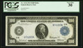 Fr. 1124 $100 1914 Federal Reserve Note PCGS Very Fine 30