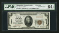 National Bank Notes:Pennsylvania, Shamokin, PA - $20 1929 Ty. 1 The West End NB Ch. # 12805. ...