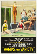 "Movie Posters:Comedy, Vamps and Variety (Vitagraph, 1919). One Sheet (27.5"" X 40"").. ..."
