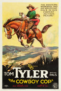 "Movie Posters:Western, The Cowboy Cop (FBO, 1926). One Sheet (27"" X 41"") Style B.. ..."