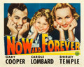 "Movie Posters:Drama, Now and Forever (Paramount, 1934). Half Sheet (22"" X 28"") Style A....."