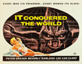 "Movie Posters:Science Fiction, It Conquered the World (American International, 1956). Half Sheet (22"" X 28"").. ..."