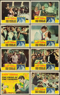 "Movie Posters:Sports, The Pride of the Yankees (RKO, 1942). Lobby Card Set of 8 (11"" X 14"").. ... (Total: 8 Items)"