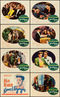 "Movie Posters:Romance, Now, Voyager (Warner Brothers, 1942). Lobby Card Set of 8 (11"" X14"").. ... (Total: 8 Items)"