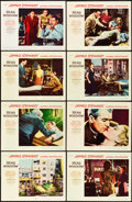 "Movie Posters:Hitchcock, Rear Window (Paramount, 1954). Lobby Card Set of 8 (11"" X 14"")..... (Total: 8 Items)"