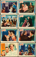 "Movie Posters:Romance, The Barretts of Wimpole Street (MGM, 1934). Lobby Card Set of 8(11"" X 14"").. ... (Total: 8 Items)"