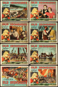 """Movie Posters:Adventure, Old Ironsides (Paramount, 1926). Lobby Card Set of 8 (11"""" X 14"""")..... (Total: 8 Items)"""