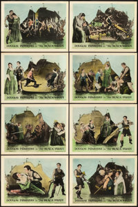 """The Black Pirate (United Artists, 1926). Lobby Card Set of 8 (11"""" X 14""""). ... (Total: 8 Items)"""