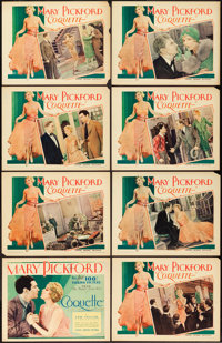 """Coquette (United Artists, 1929). Lobby Card Set of 8 (11"""" X 14""""). ... (Total: 8 Items)"""
