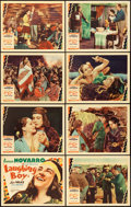 "Movie Posters:Drama, Laughing Boy (MGM, 1934). Lobby Card Set of 8 (11"" X 14"").. ...(Total: 8 Items)"