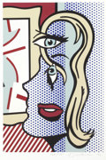 Prints, ROY LICHTENSTEIN (American, 1923-1997). Art Critic, 1996. Screenprint in colors. 19-3/4 x 13-1/4 inches (50.2 x 33.7 cm)...