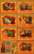 """Movie Posters:Swashbuckler, The Private Lives of Elizabeth and Essex (Warner Brothers, 1939).Lobby Card Set of 8 (11"""" X 14"""").. ... (Total: 8 Items)"""