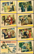 "Movie Posters:Drama, Stella Dallas (United Artists, 1937). Lobby Card Set of 8 (11"" X14"").. ... (Total: 8 Items)"