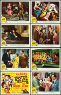 "Movie Posters:Musical, Easter Parade (MGM, 1948). Lobby Card Set of 8 (11"" X 14"").. ...(Total: 8 Items)"