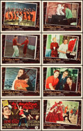 """Movie Posters:Musical, An American in Paris (MGM, 1951). Lobby Card Set of 8 (11"""" X 14"""").. ... (Total: 8 Items)"""