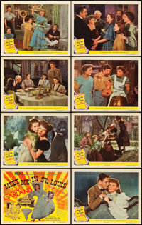 "Meet Me in St. Louis (MGM, 1944). Lobby Card Set of 8 (11"" X 14""). ... (Total: 8 Items)"
