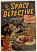 Golden Age (1938-1955):Science Fiction, Space Detective #1 (Avon, 1951) Condition: GD+....