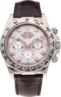 Timepieces:Wristwatch, No Shipping into the U.S. - Rolex Ref. 16519 Gold Oyster Perpetual Cosmograph Daytona, circa 1997. ...