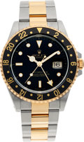 Timepieces:Wristwatch, No Shipping into the U.S. - Rolex Ref. 16713 Two Tone GMT Master II Oyster Perpetual, circa 1997. ...