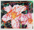 Fine Art - Work on Paper:Print, JAMES ROSENQUIST (American, b. 1933). New York Says It, 1983. Lithograph and screenprint in colors on Arches paper. 27-5...