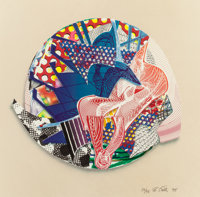 FRANK STELLA (American, b. 1936) Roncador and Roncador and Eusapia (both from Imaginary Places III)<