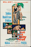 "Movie Posters:Drama, Love Has Many Faces (Columbia, 1965). One Sheet (27"" X 41""). Drama.. ..."