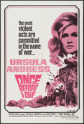 "Movie Posters:War, Once Before I Die (Seven Arts, 1966). One Sheet (27"" X 41""). War....."
