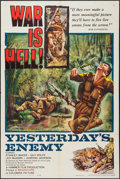 """Movie Posters:War, Yesterday's Enemy (Columbia, 1959). One Sheet (27"""" X 41""""). War....."""