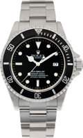 Timepieces:Wristwatch, . No Shipping into the U.S. - Rolex Ref. 16600 Steel OysterPerpetual Date Sea-Dweller, circa 1999. ...