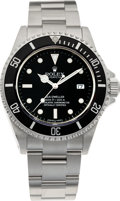 Timepieces:Wristwatch, No Shipping into the U.S. - Rolex Ref. 16600 Steel Oyster Perpetual Date Sea-Dweller, circa 1999. ...