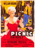 "Movie Posters:Drama, Picnic (Columbia, 1956). French Grande (46"" X 62.5"").. ..."