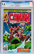 Bronze Age (1970-1979):Superhero, Conan the Barbarian #69 (Marvel, 1976) CGC NM/MT 9.8 Off-white to white pages....