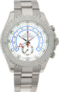 Timepieces:Wristwatch, No Shipping into the U.S. - Rolex Ref. 116689 White Gold Yacht-Master II Oyster Perpetual, circa 2006. ...