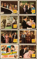 """Movie Posters:Comedy, Heaven Can Wait (20th Century Fox, 1943). Lobby Card Set of 8 (11""""X 14"""").. ..."""