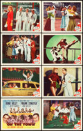 "Movie Posters:Musical, On the Town (MGM, 1949). Lobby Card Set of 8 (11"" X 14"").. ... (Total: 8 Items)"