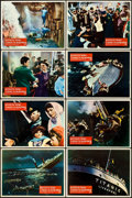"""Movie Posters:Drama, A Night to Remember (Rank, 1959). British Lobby Card Set of 8 (11""""X 14"""").. ... (Total: 8 Items)"""