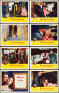 "Movie Posters:Romance, Portrait of Jennie (Selznick, 1949). Lobby Card Set of 8 (11"" X14"").. ... (Total: 8 Items)"
