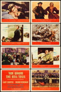 """Movie Posters:War, For Whom the Bell Tolls (Paramount, 1943). Lobby Card Set of 8 (11""""X 14"""").. ... (Total: 8 Items)"""