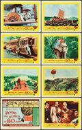 "Movie Posters:Adventure, Around the World in 80 Days (United Artists, 1956). Lobby Card Set of 8 (11"" X 14""). Adventure.. ... (Total: 8 Items)"